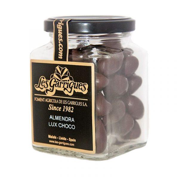 Amêndoas cobertas de Chocolate em Frasco Les Garrigues 130g