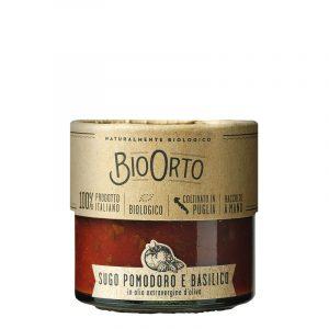 Molho de Tomate com Manjericão Biológico BioOrto 185g