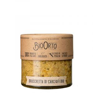 Bruschetta de Alcachofras Biológicas BioOrto 180g