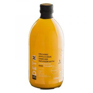 Andrea Milano Cider Vinegar with Cinnamon and Turmeric Deto 500ml