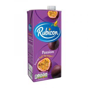 Bebida de Sumo de Maracujá Rubicon 1L