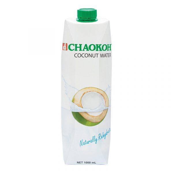 Água de Coco Pura 100% Chaokoh 1L