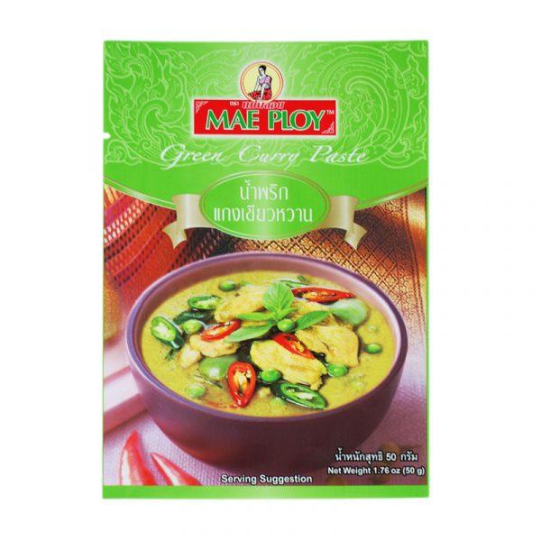 Pasta de Caril Verde Mae Ploy 50g