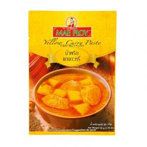 Pasta de Caril Amarelo Mae Ploy 50g