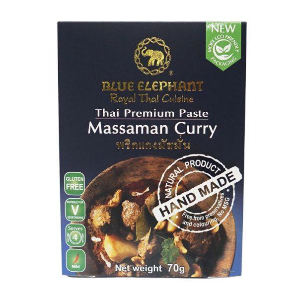 Pasta de Caril Massaman Blue Elephant 70g