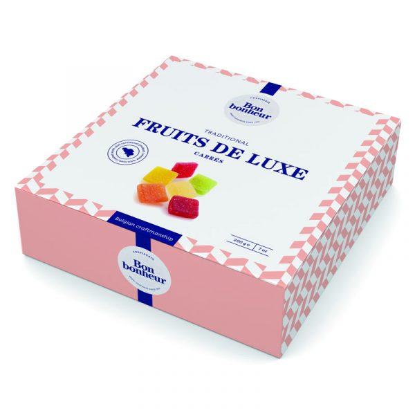 Confeitaria Fruits de Luxe Carrés Bonbonheur 200g