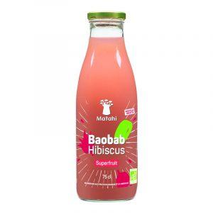 Bebida Superfruit Baobab Hibiscus Matahi 750ml