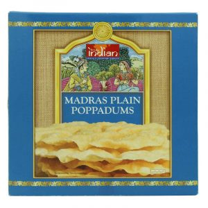 Truly India Madras Poppadoms 112g