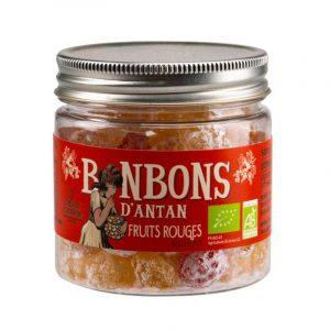 Rebuçados de Frutos Vermelhos Biológicos La Maison Armorine 120g