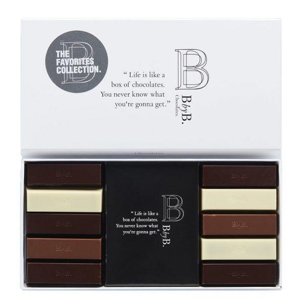 Chocolate Mix 10 Favoritos do Chef BbyB Chocolates 110g