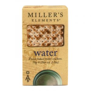 Artisan Biscuits Millers Elements Water Crackers by Artisain Biscuits 70g