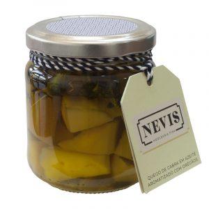 Queijo de Cabra em Azeite Aromatizado com Orégãos Nevis 190g