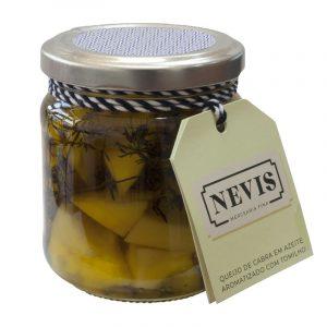 Queijo de Cabra em Azeite Aromatizado com Tomilho Nevis 190g
