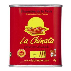 Pimentão de La Vera Fumado Picante DOP La Chinata 70g