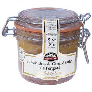 Foie Gras Inteiro de Pato du Périgord IGP Valette 180g