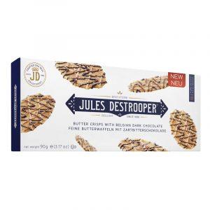 Crisps de Manteiga com Chocolate Preto Belga Jules Destrooper 175g